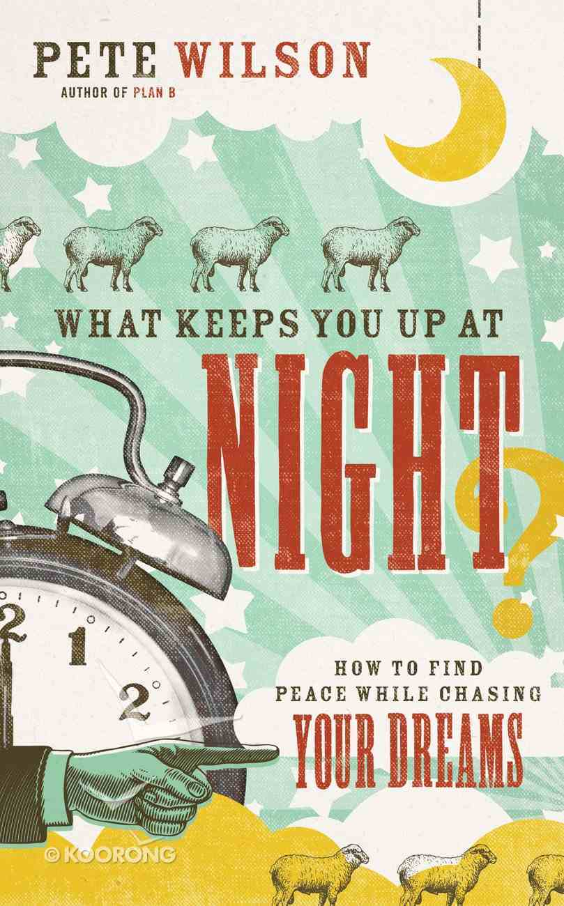 What Keeps You Up At Night? eAudio Book