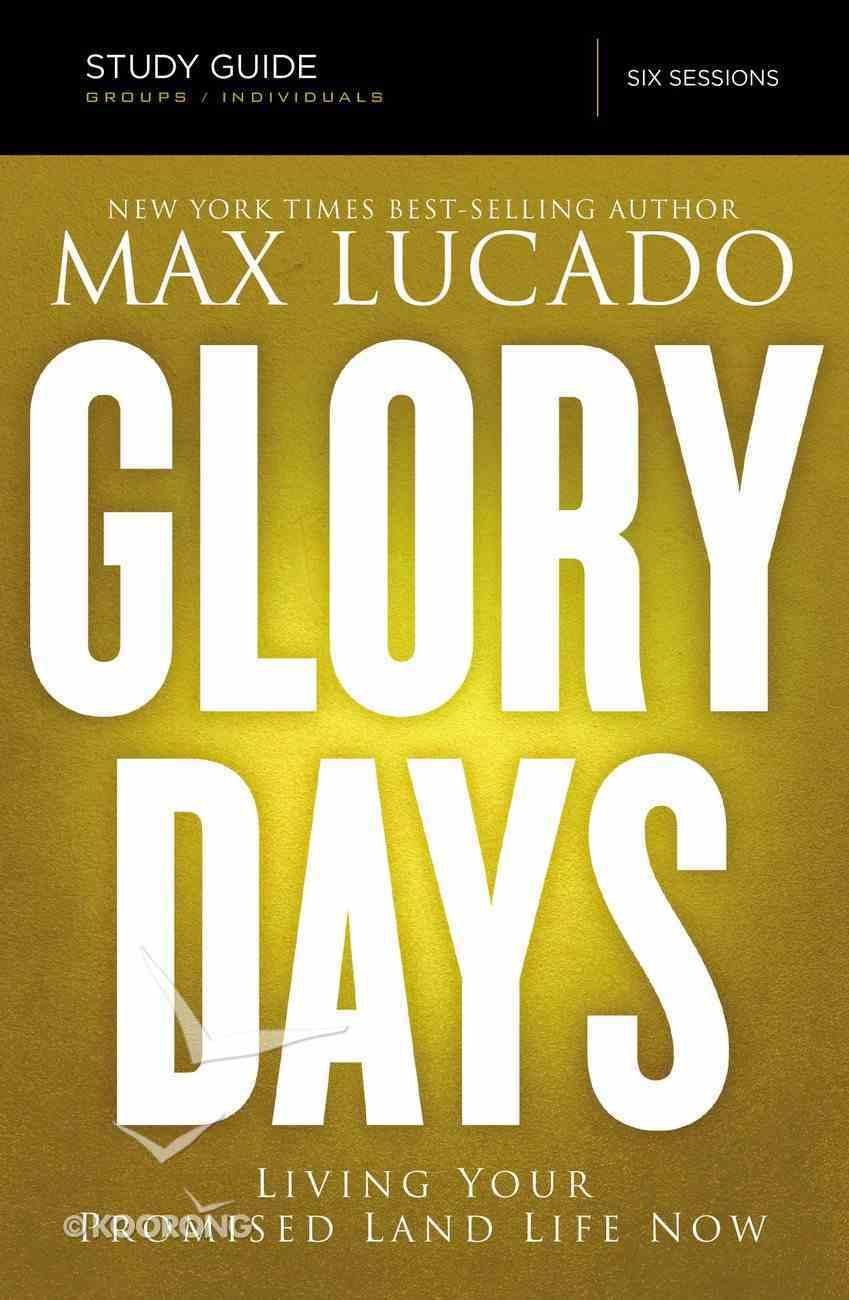 Glory Days Study Guide eBook