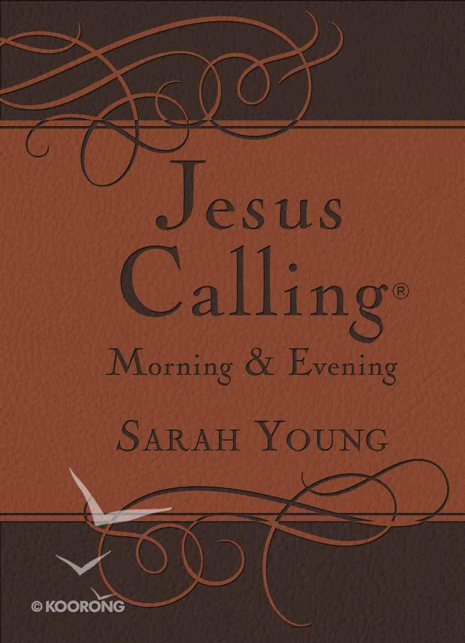 Jesus Calling Morning and Evening Devotional eBook
