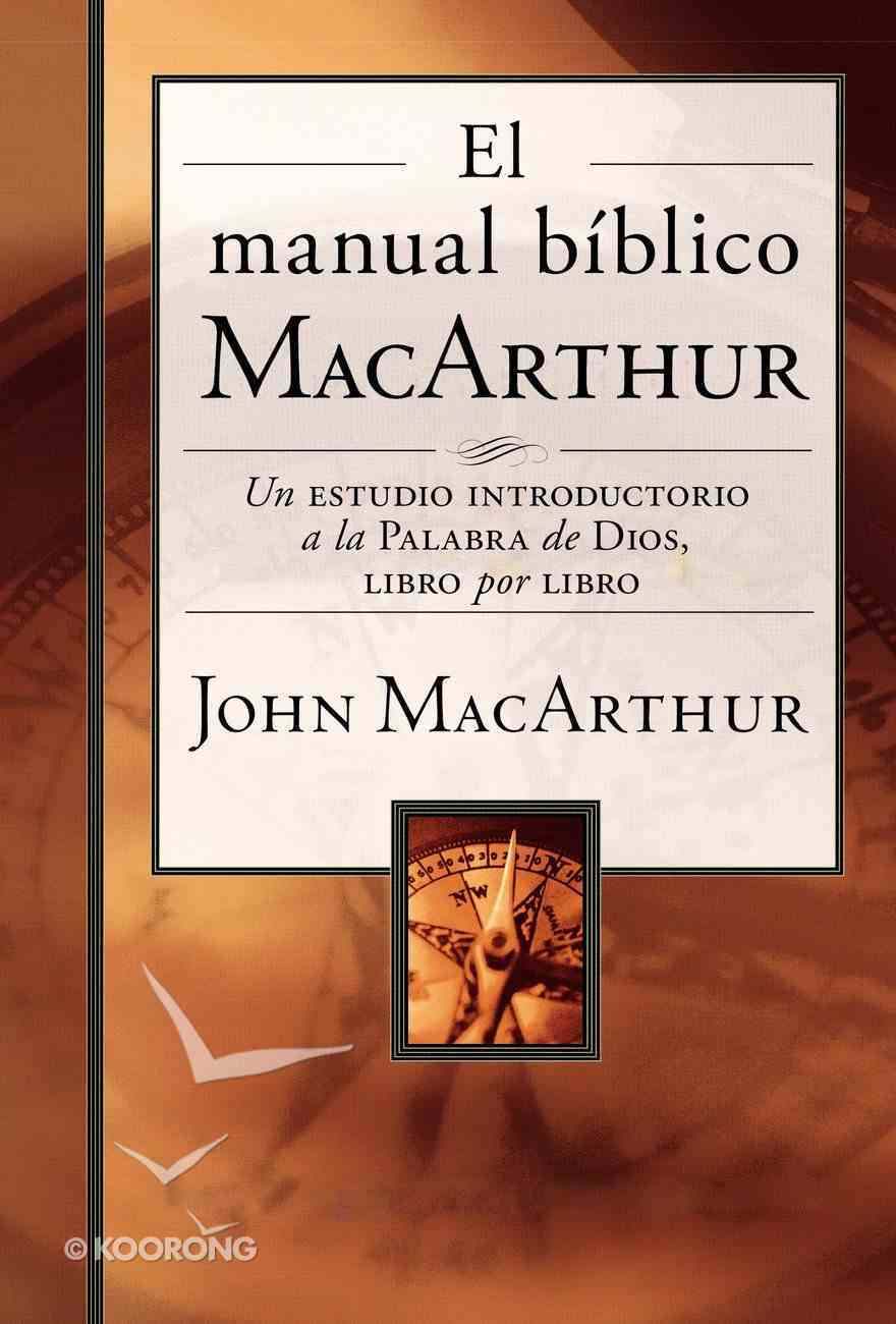 Manual Bblico Macarthur, El eBook