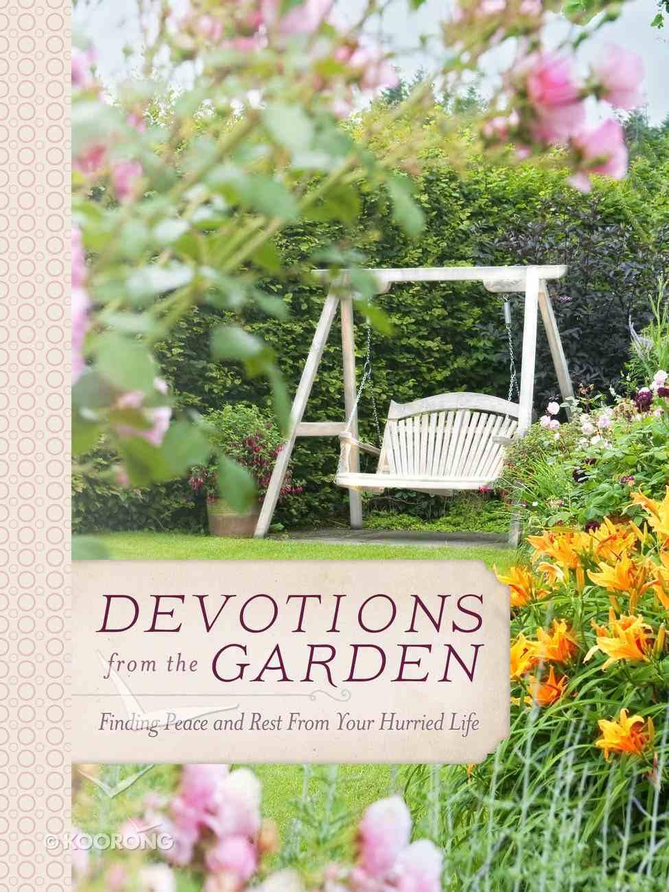 Devotions From the Garden eAudio Book