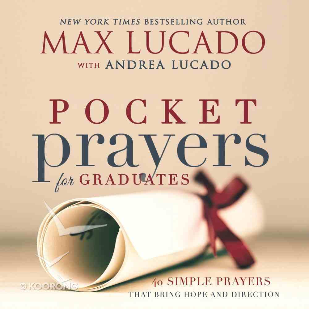 Pocket Prayers For Graduates (Pocket Prayers Series) eBook