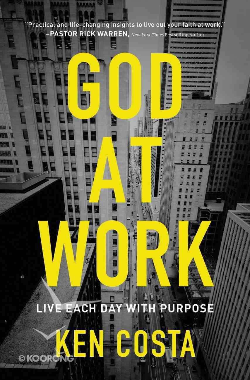 God At Work eBook