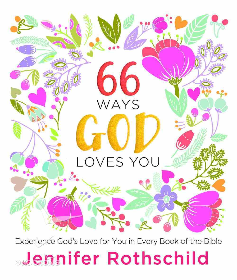 66 Ways God Loves You eBook