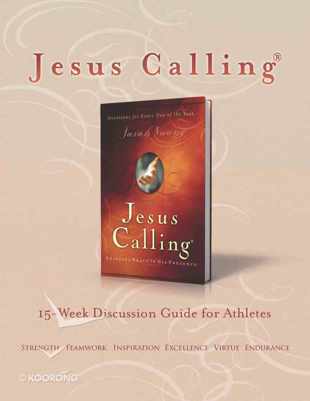 Jesus Calling Book Club Discussion Guide For Athletes eBook