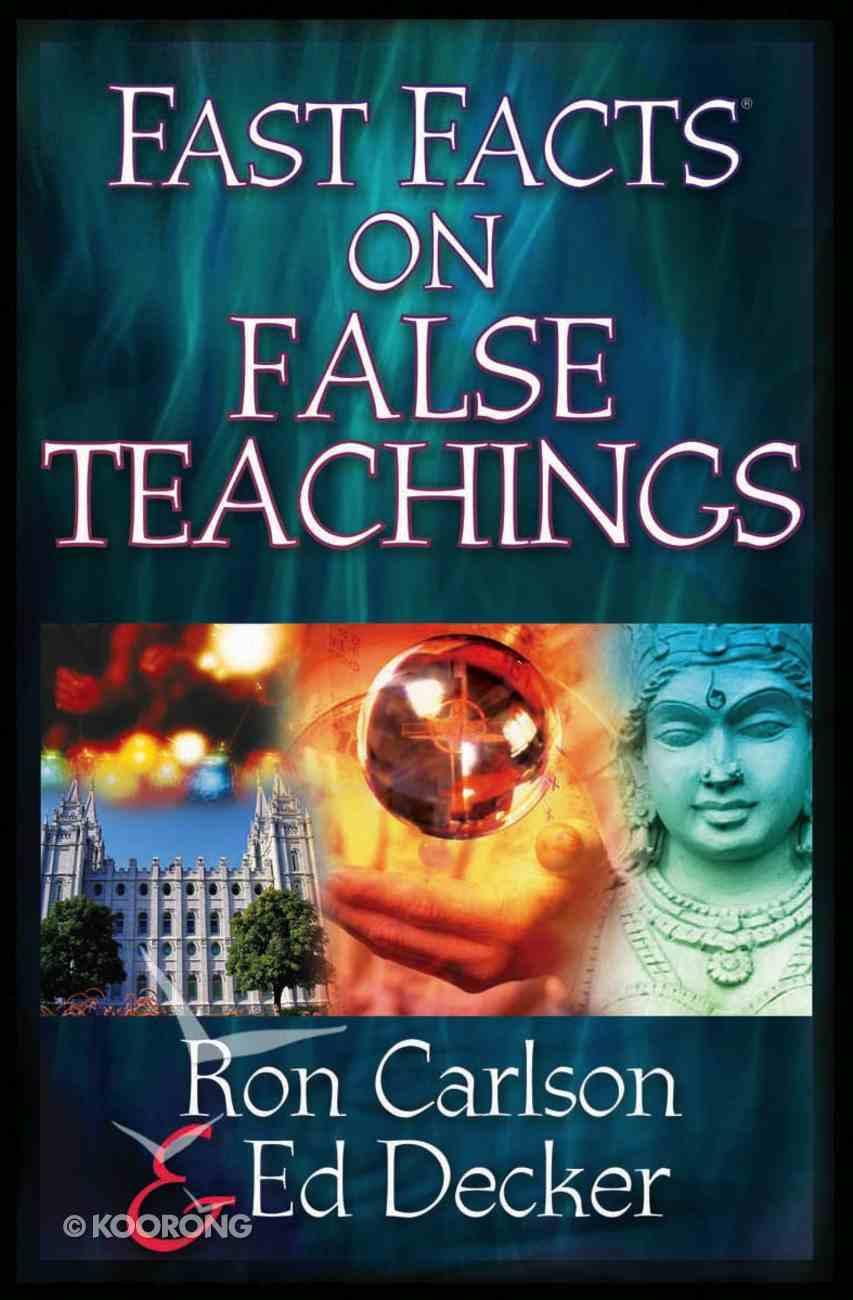 Fast Facts on False Teachings eBook