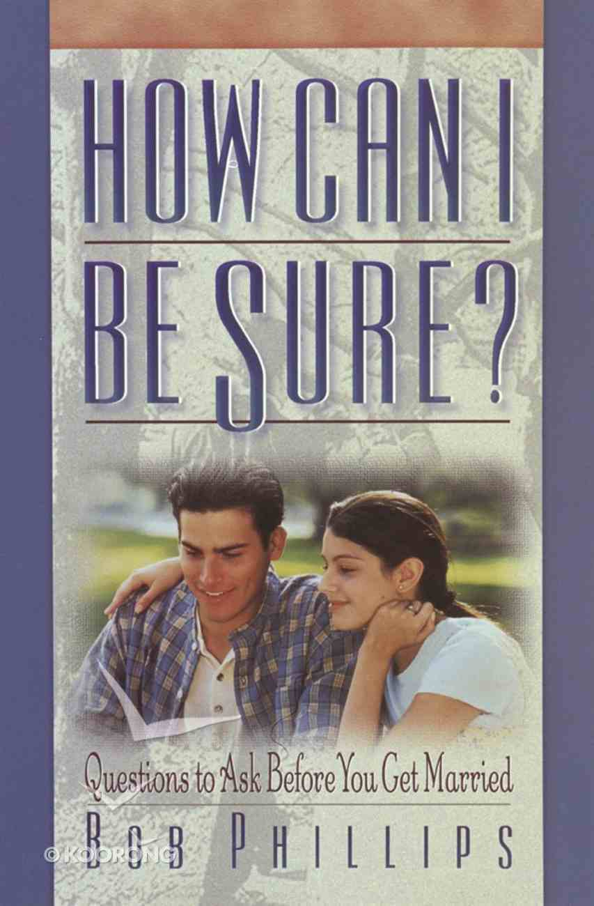How Can I Be Sure? eBook