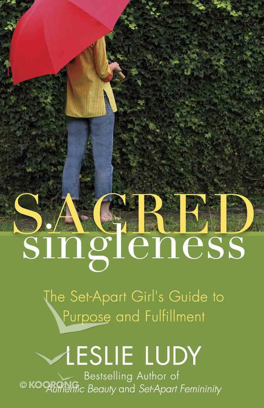 Sacred Singleness eBook