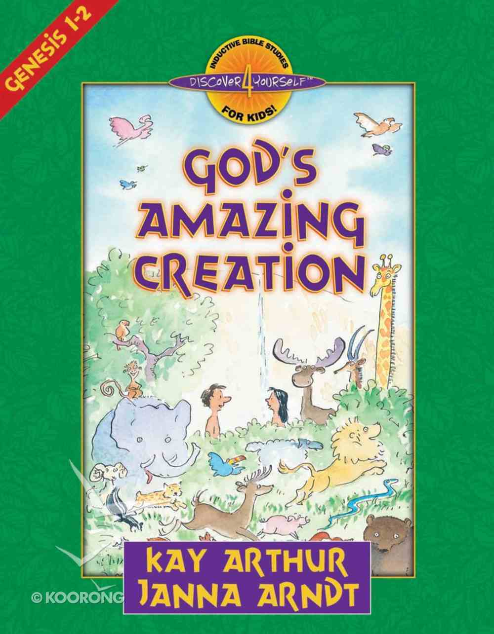 God's Amazing Creation (Genesis 1-2) (Discover For Yourself Bible Studies Series) eBook