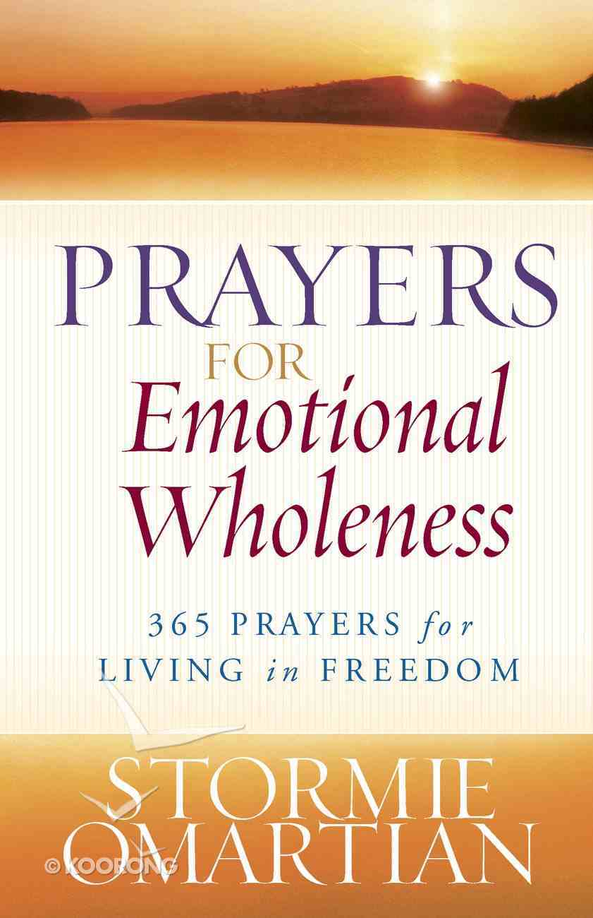 Prayers For Emotional Wholeness eBook