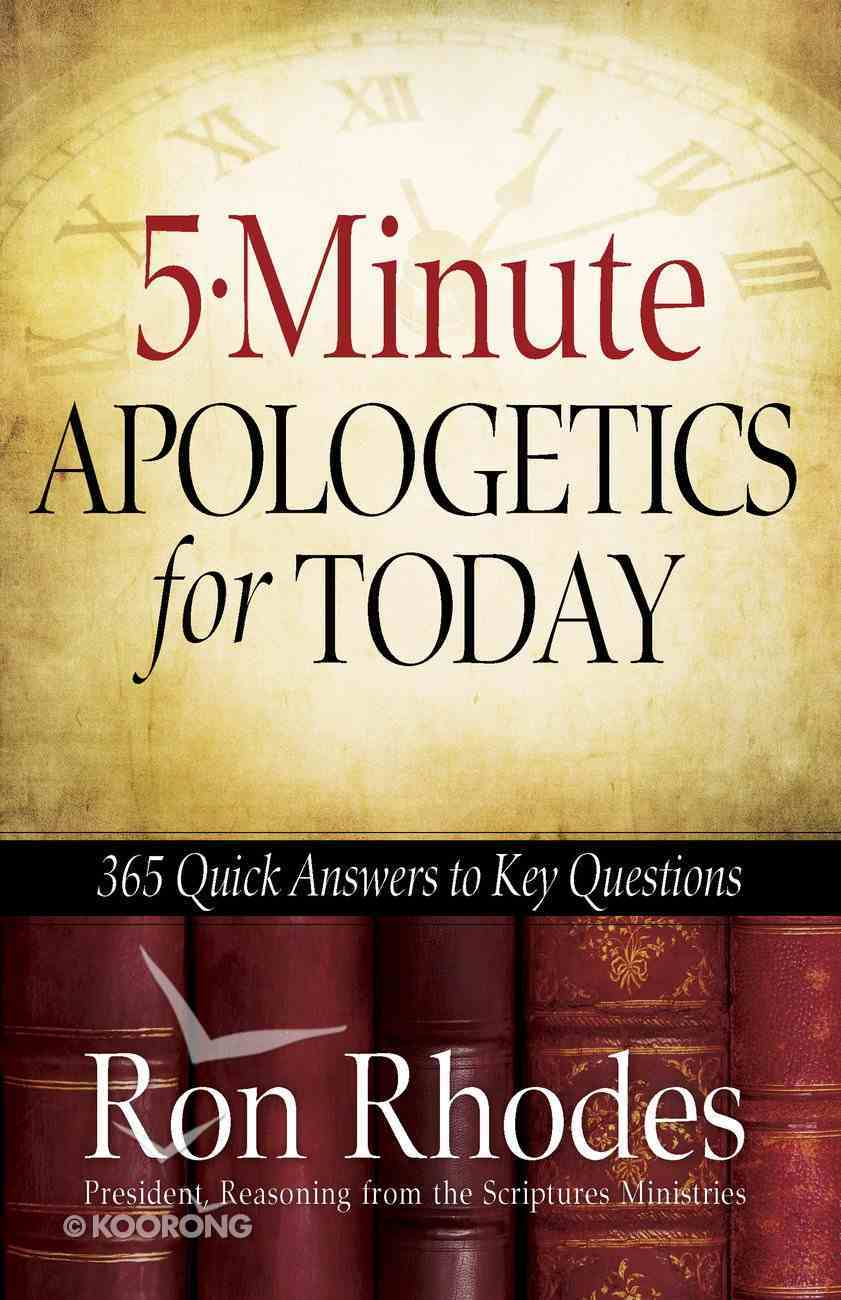 5-Minute Apologetics For Today eBook