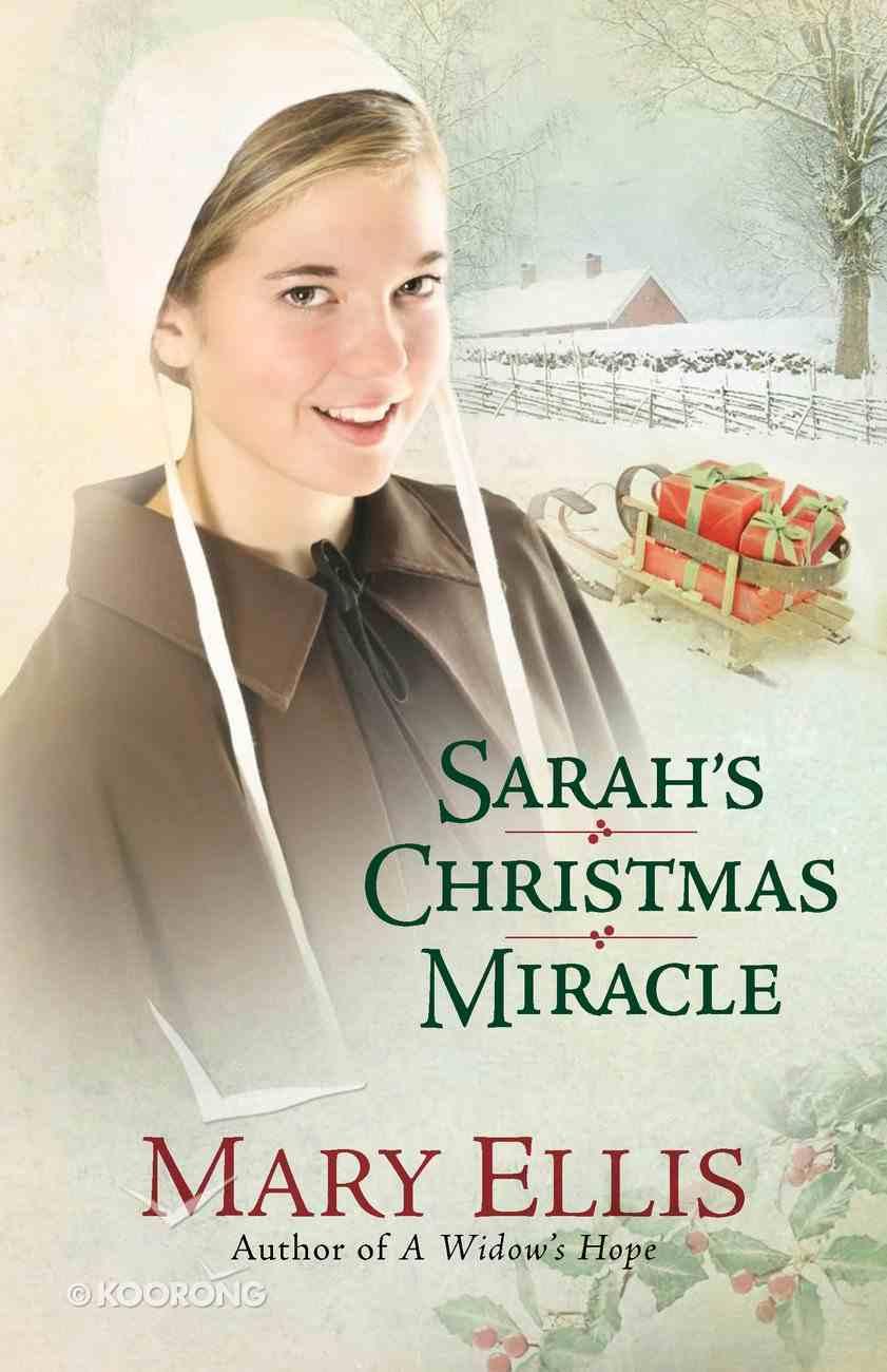 Sarah's Christmas Miracle eBook