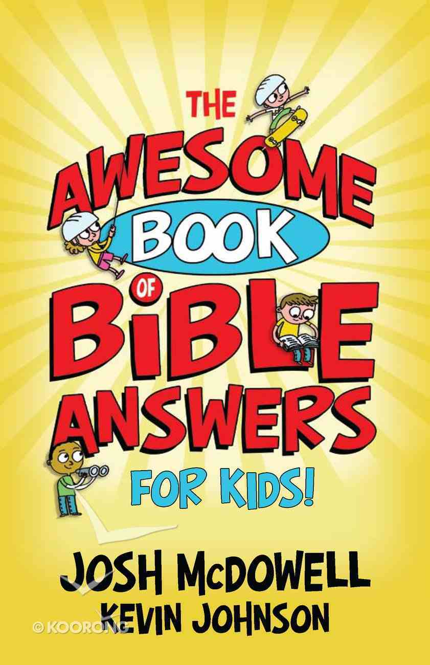 The Awesome Book of Bible Answers For Kids eBook