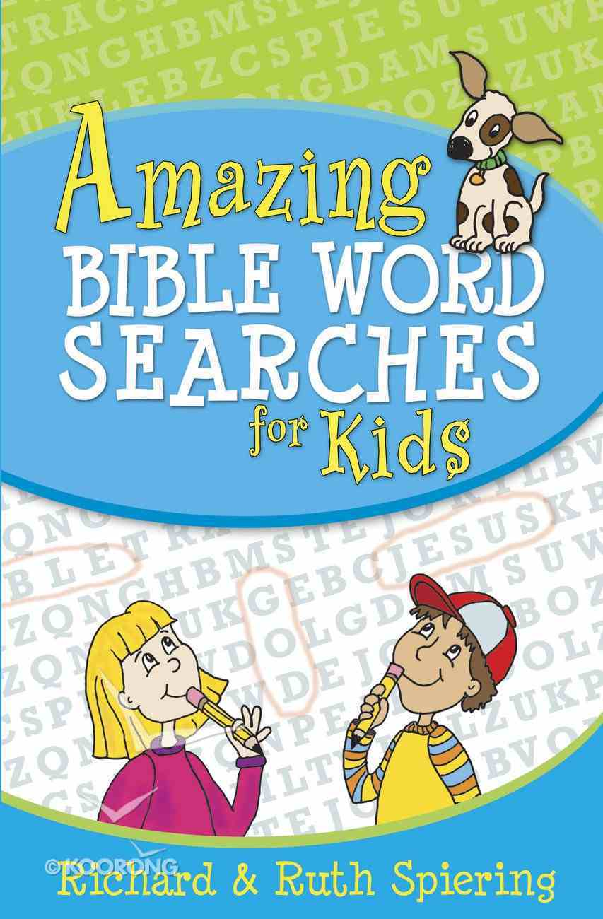 Amazing Bible Word Searches For Kids eBook