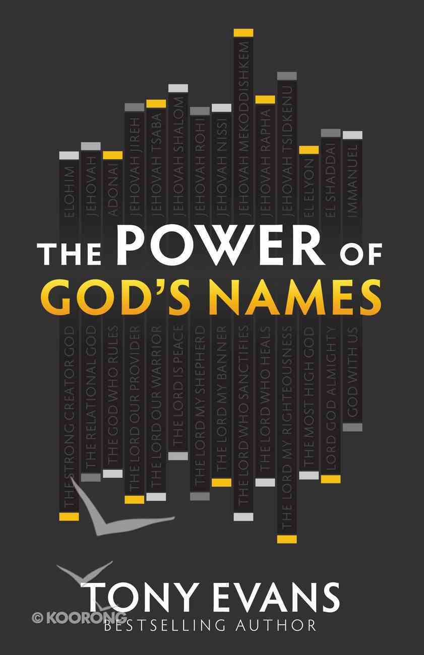 The Power of God's Names eBook