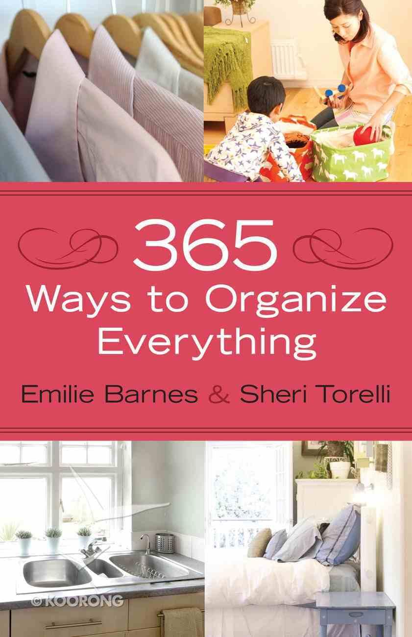 365 Ways to Organize Everything eBook