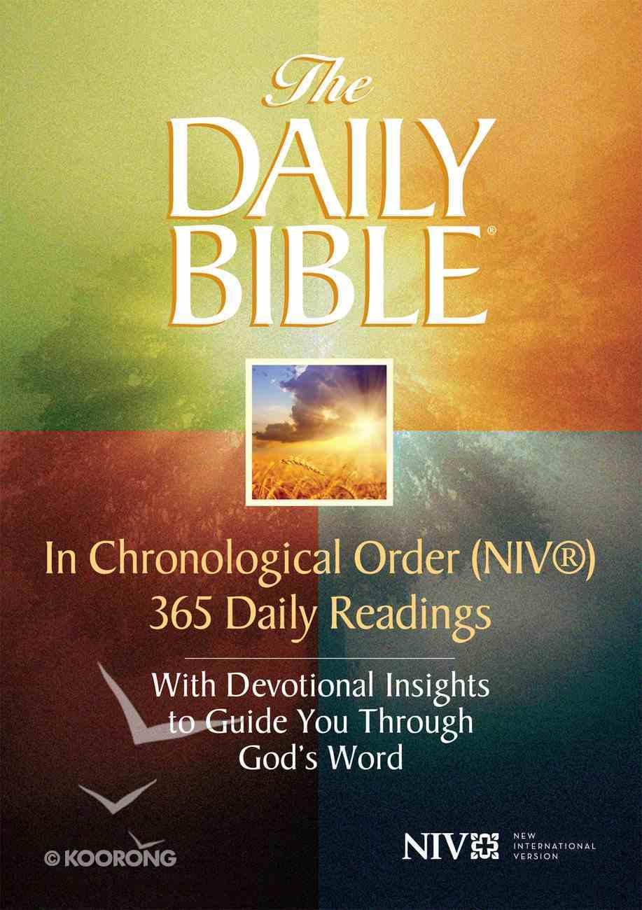 The Daily Bible? -- in Chronological Order  (Niv?) eBook