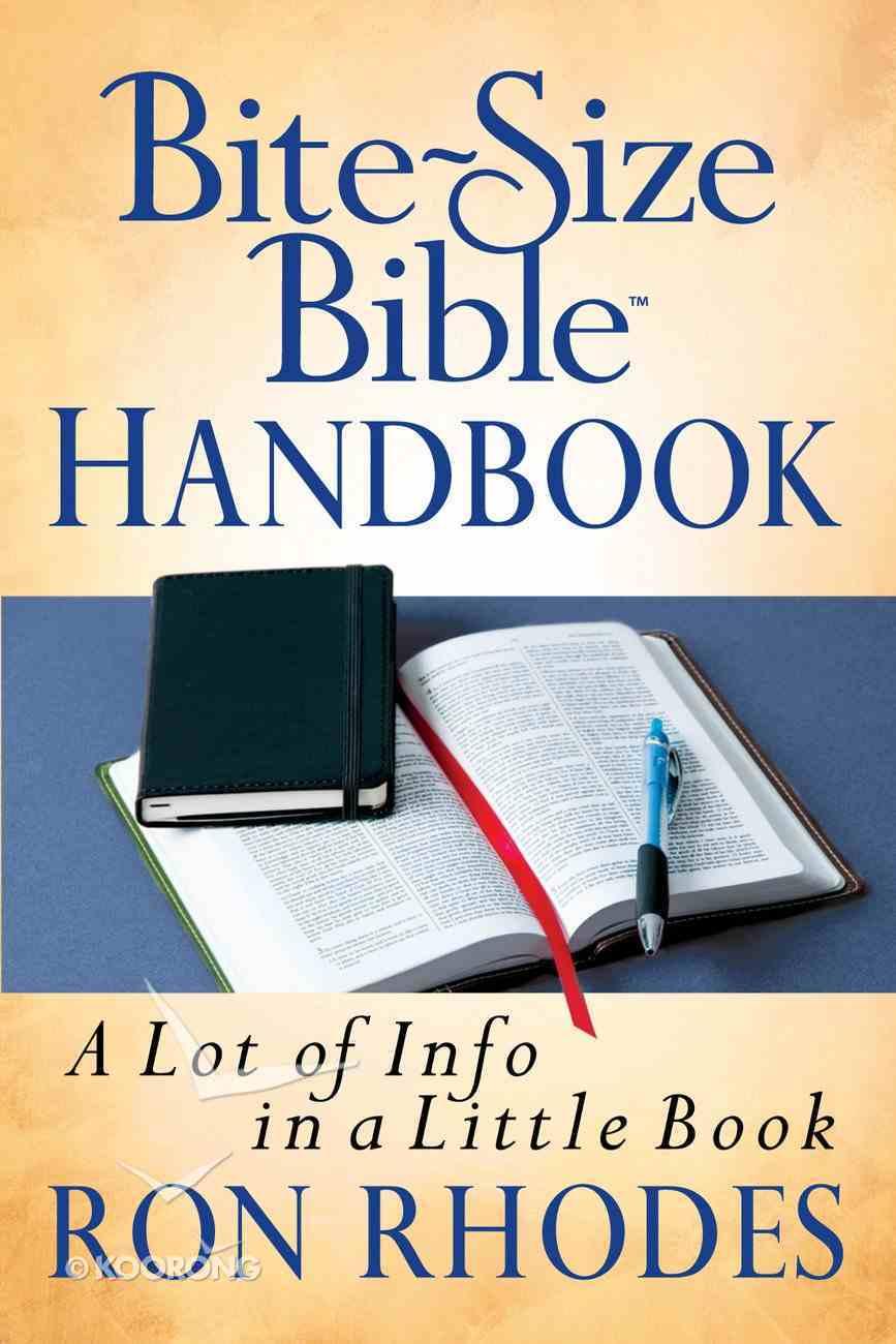 Bite-Size Bible Handbook eBook