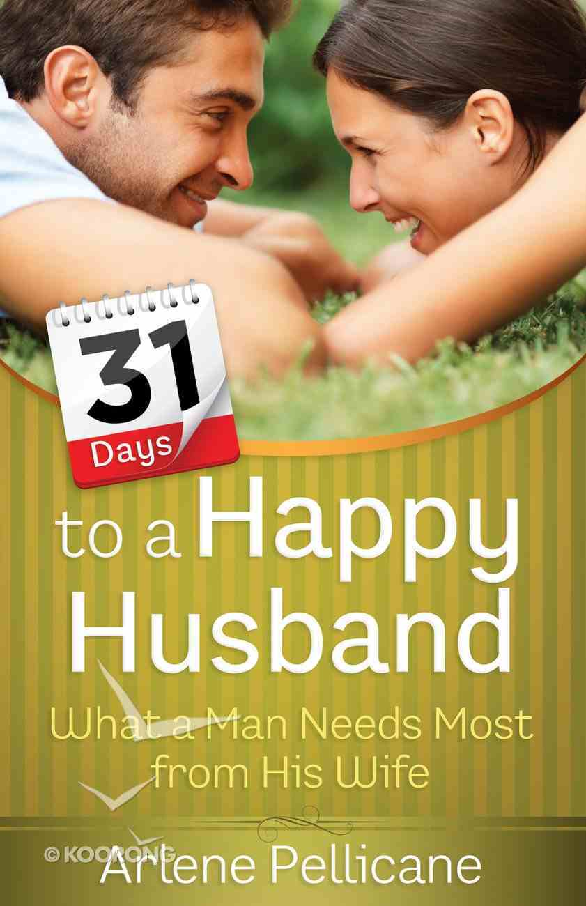 31 Days to a Happy Husband eBook