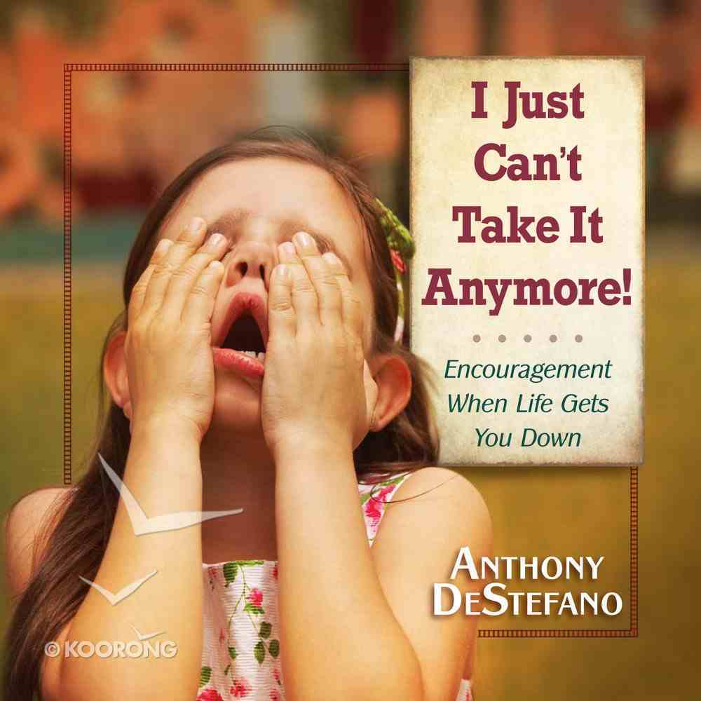 I Just Can't Take It Anymore! eBook