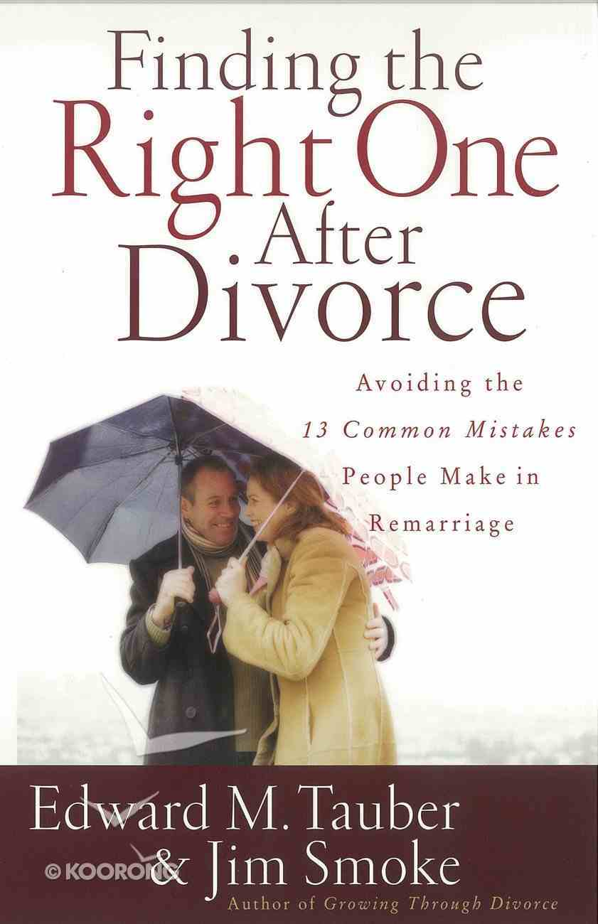 Finding the Right One After Divorce eBook