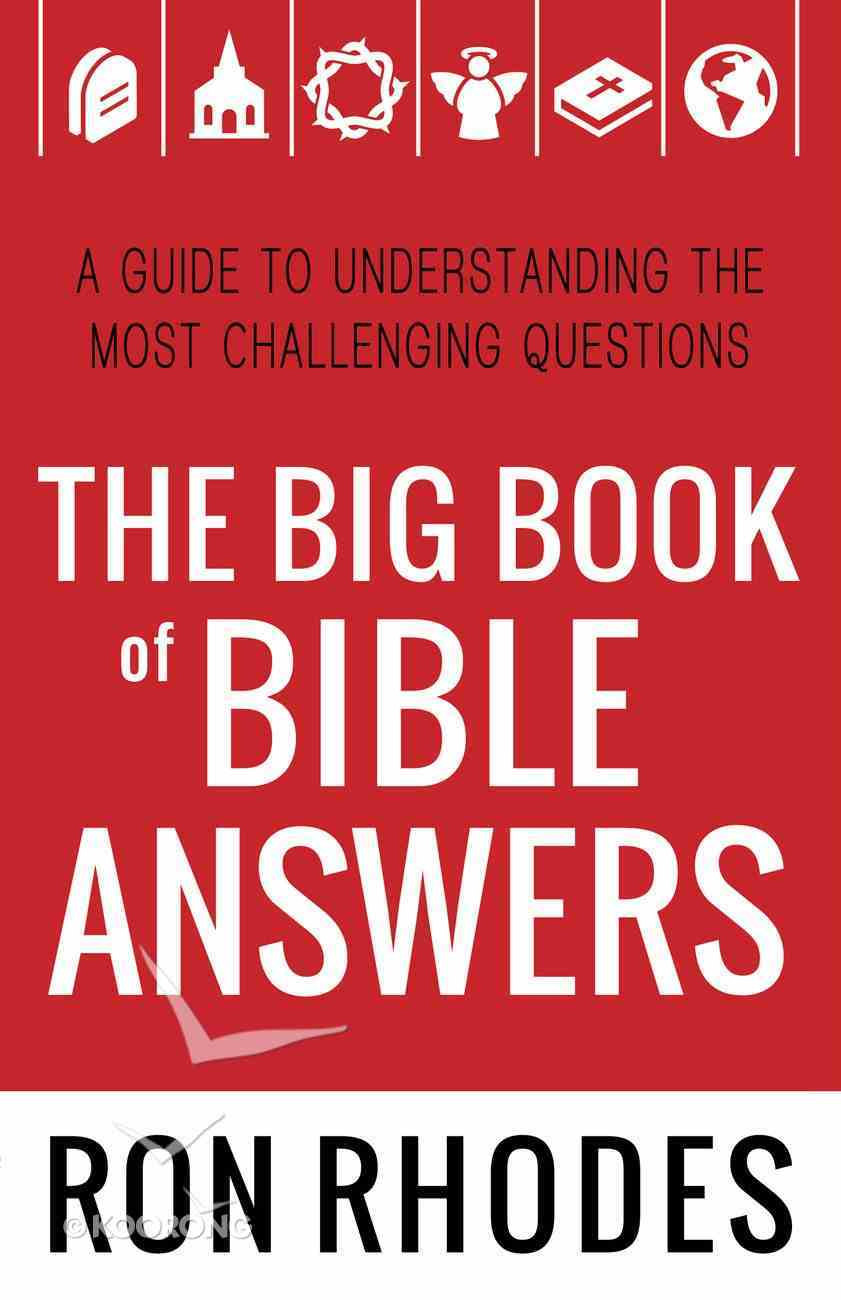 The Big Book of Bible Answers eBook
