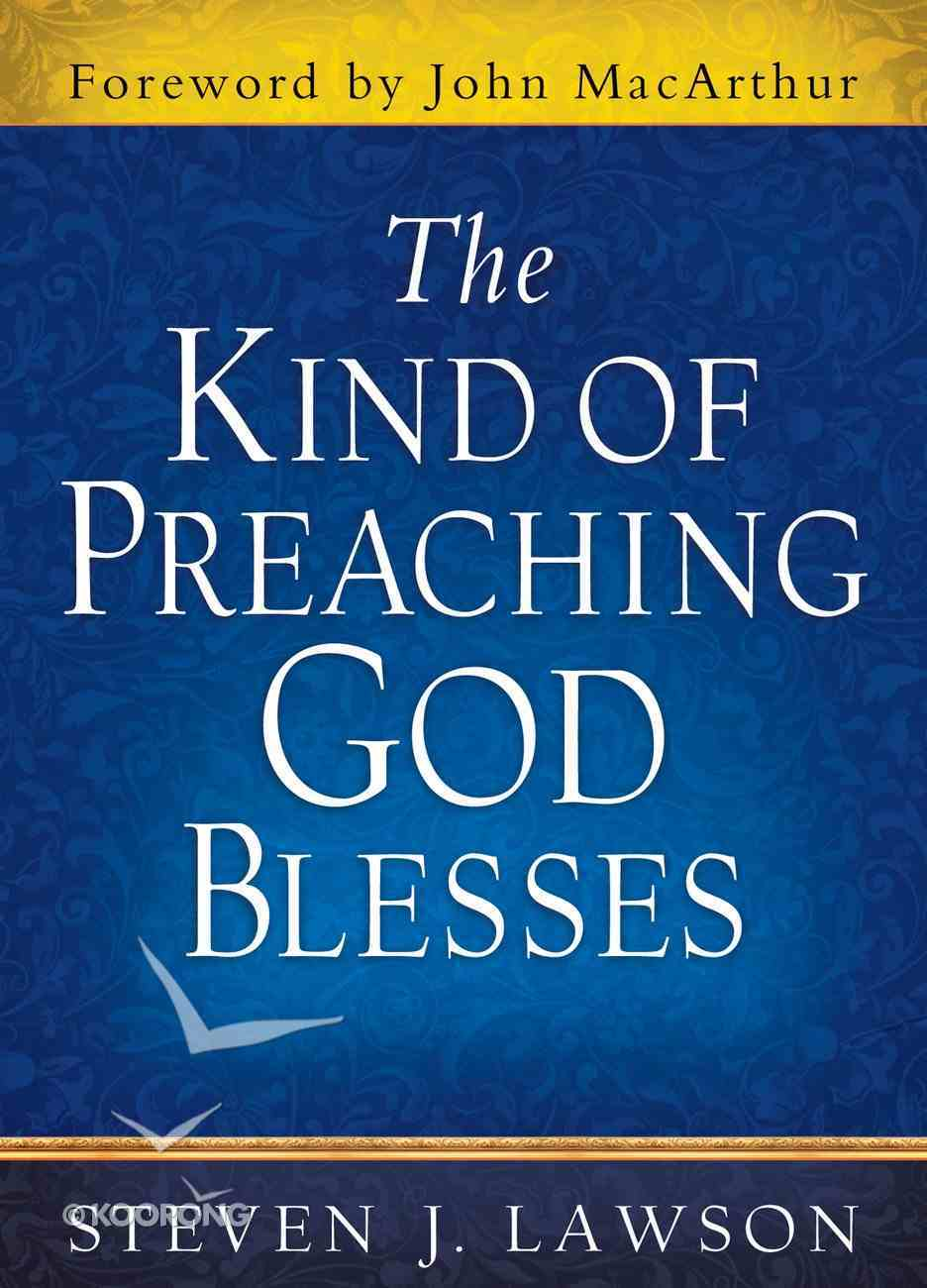 The Kind of Preaching God Blesses eBook