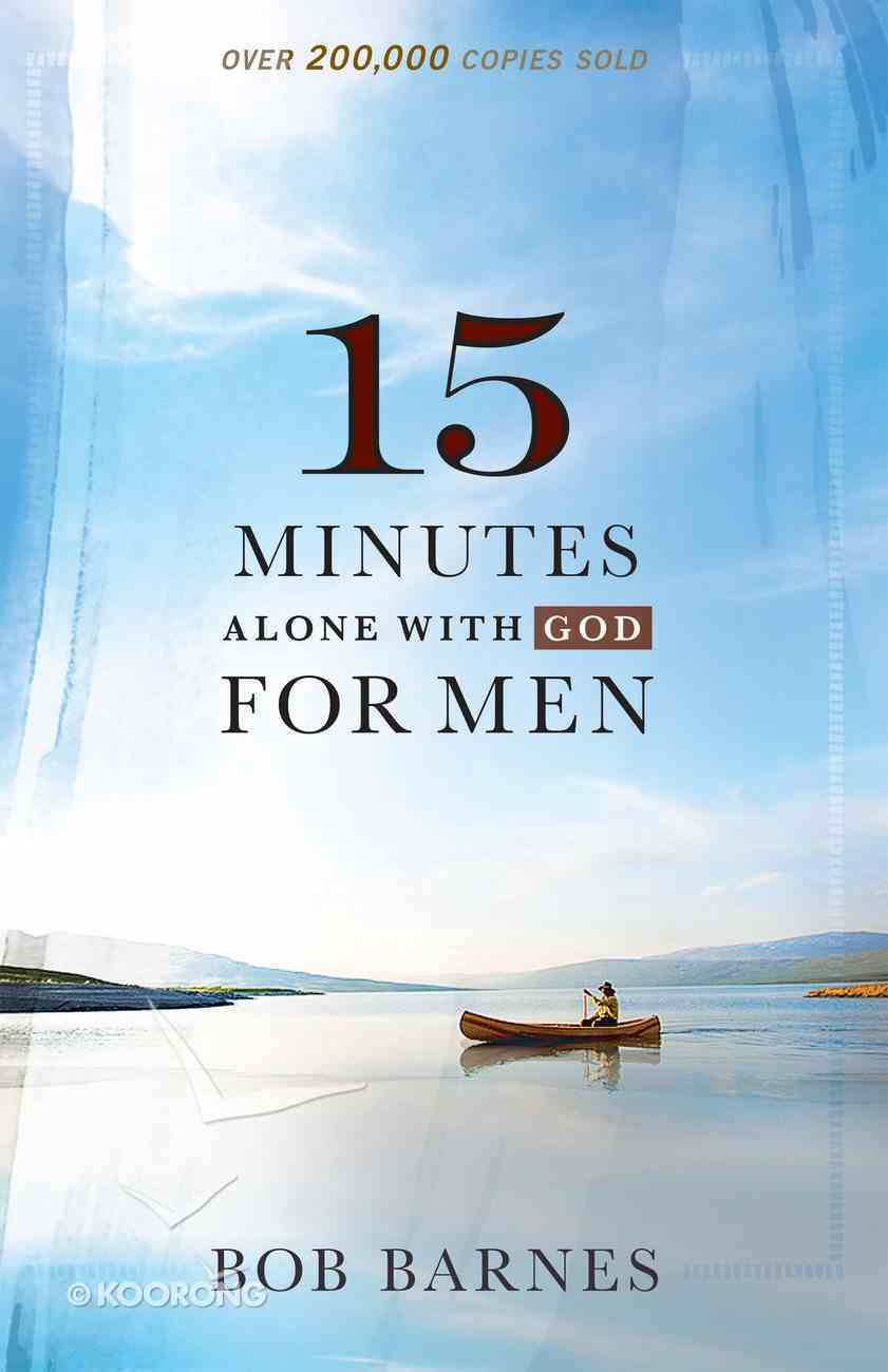 15 Minutes Alone With God For Men eBook