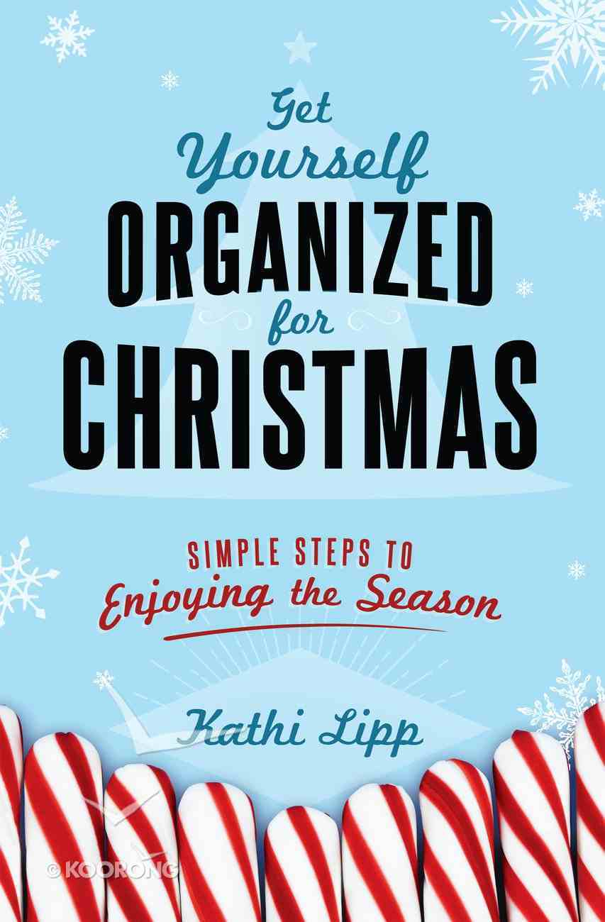 Get Yourself Organized For Christmas eBook