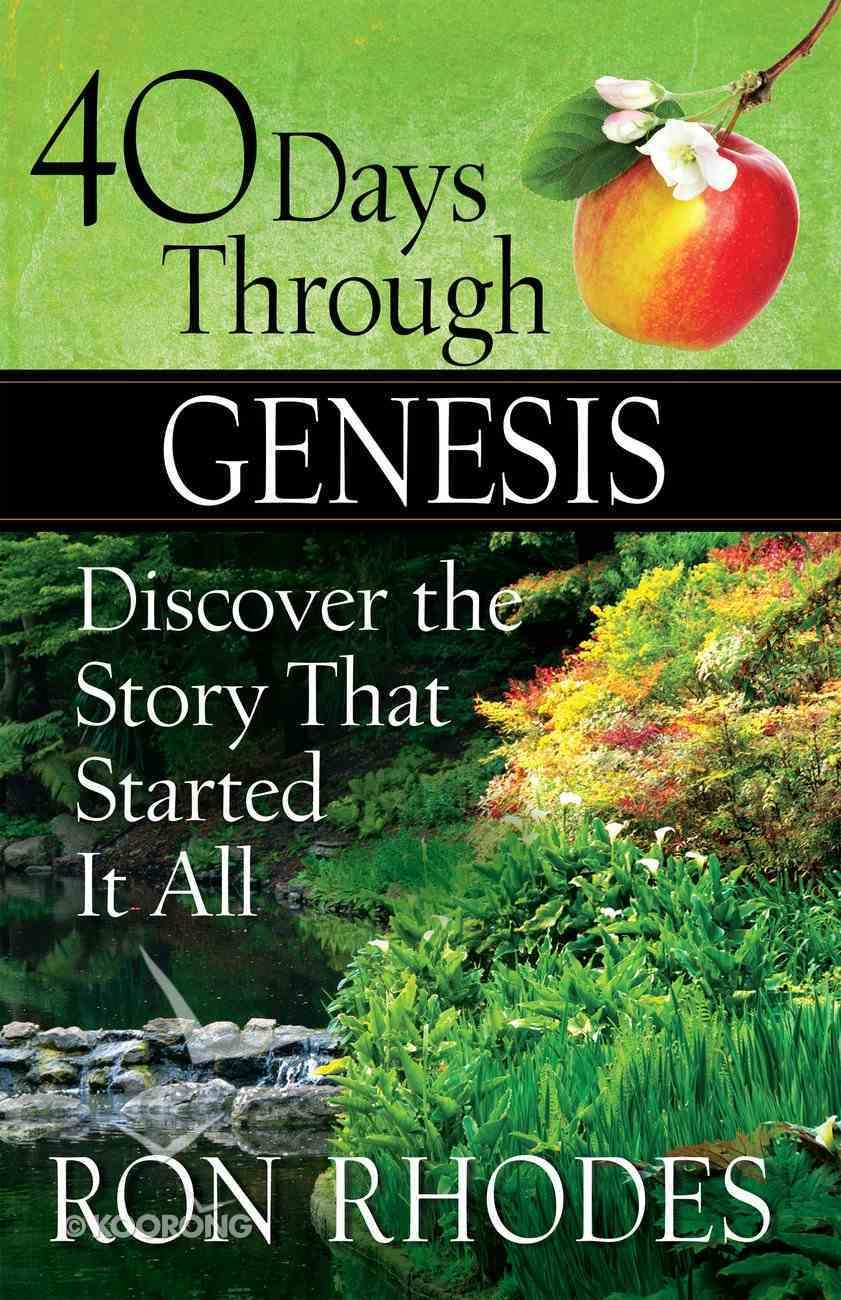 40 Days Through Genesis eBook