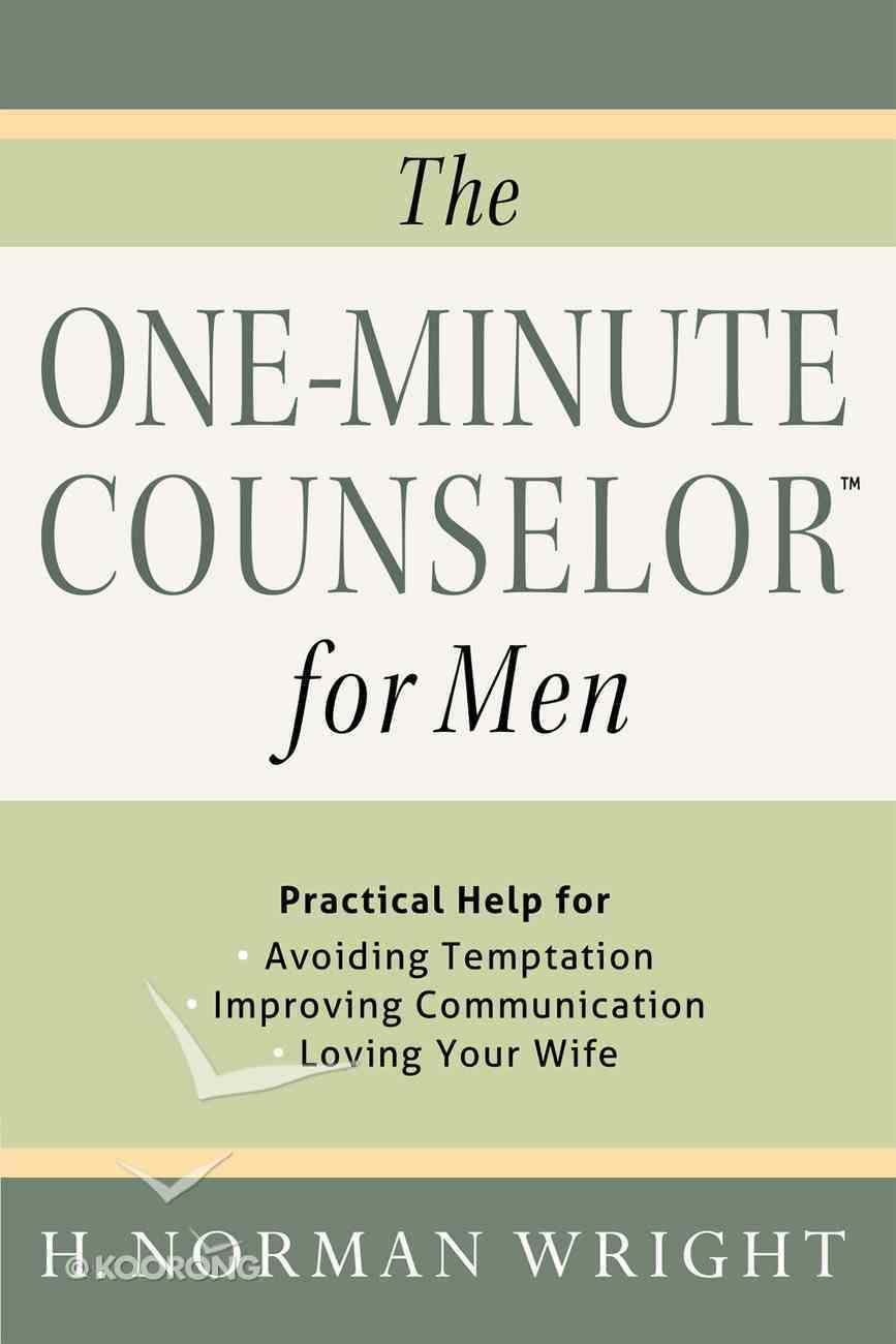 The One-Minute Counselor? For Men eBook