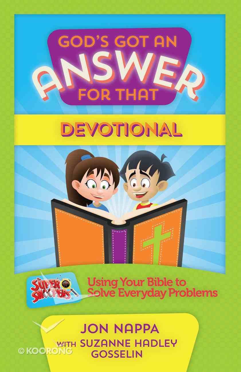 God's Got An Answer For That Devotional eBook
