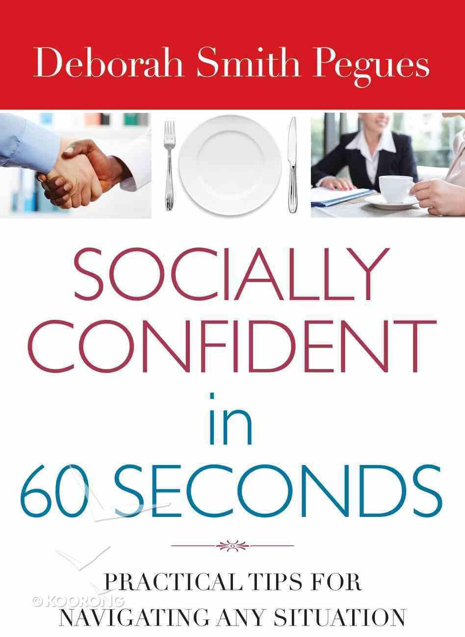 Socially Confident in 60 Seconds eBook