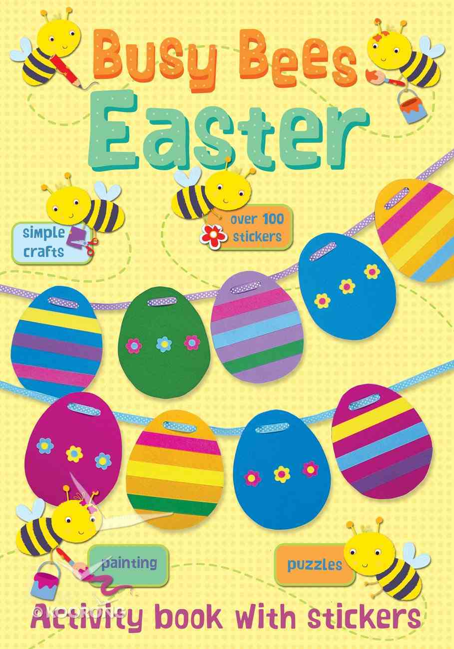 Busy Bees Easter Paperback