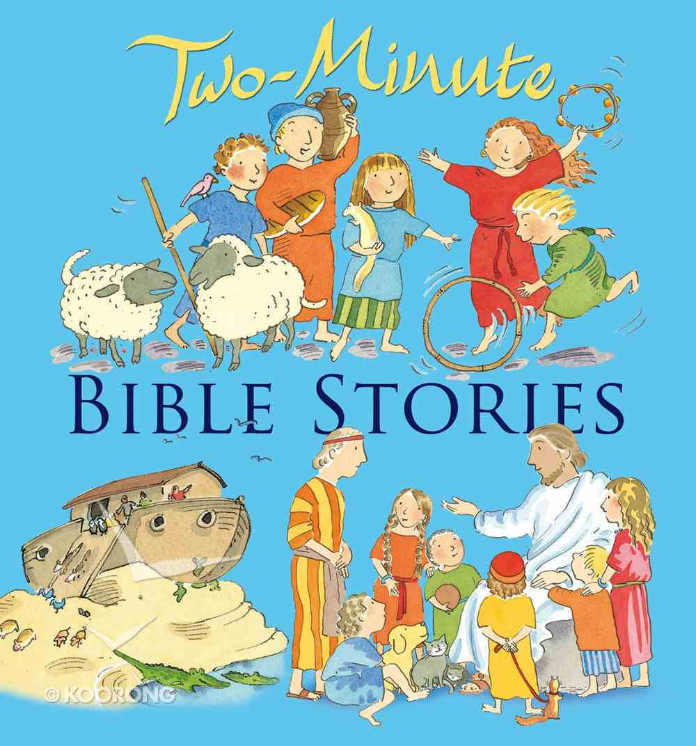 Two-Minute Bible Stories eBook