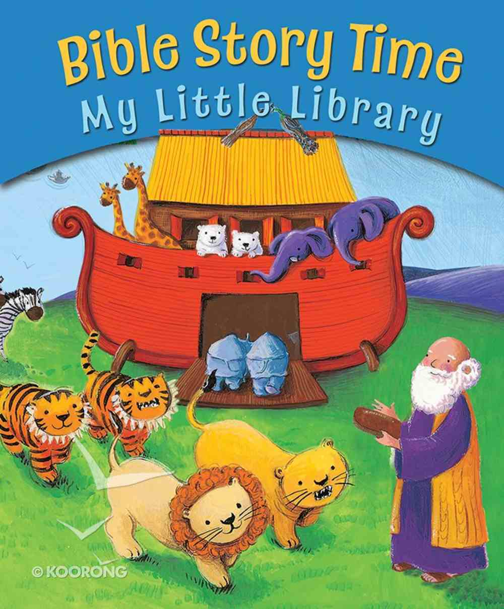 Bible Story Time: My Little Library Paperback