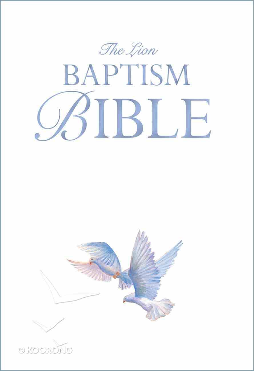 The Lion Baptism Bible Hardback