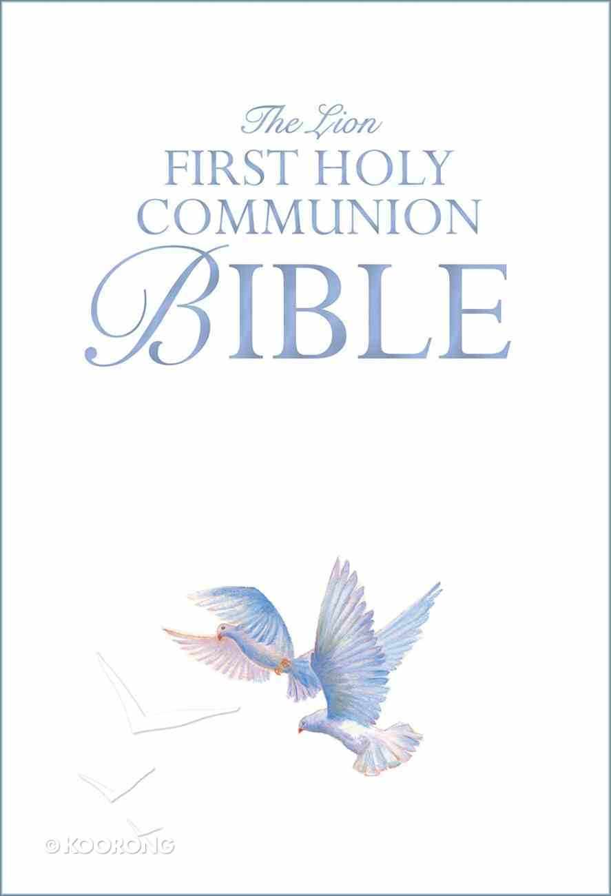 The Lion First Holy Communion Bible Hardback