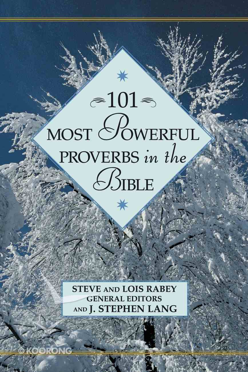 101 Most Powerful Proverbs in the Bible eBook