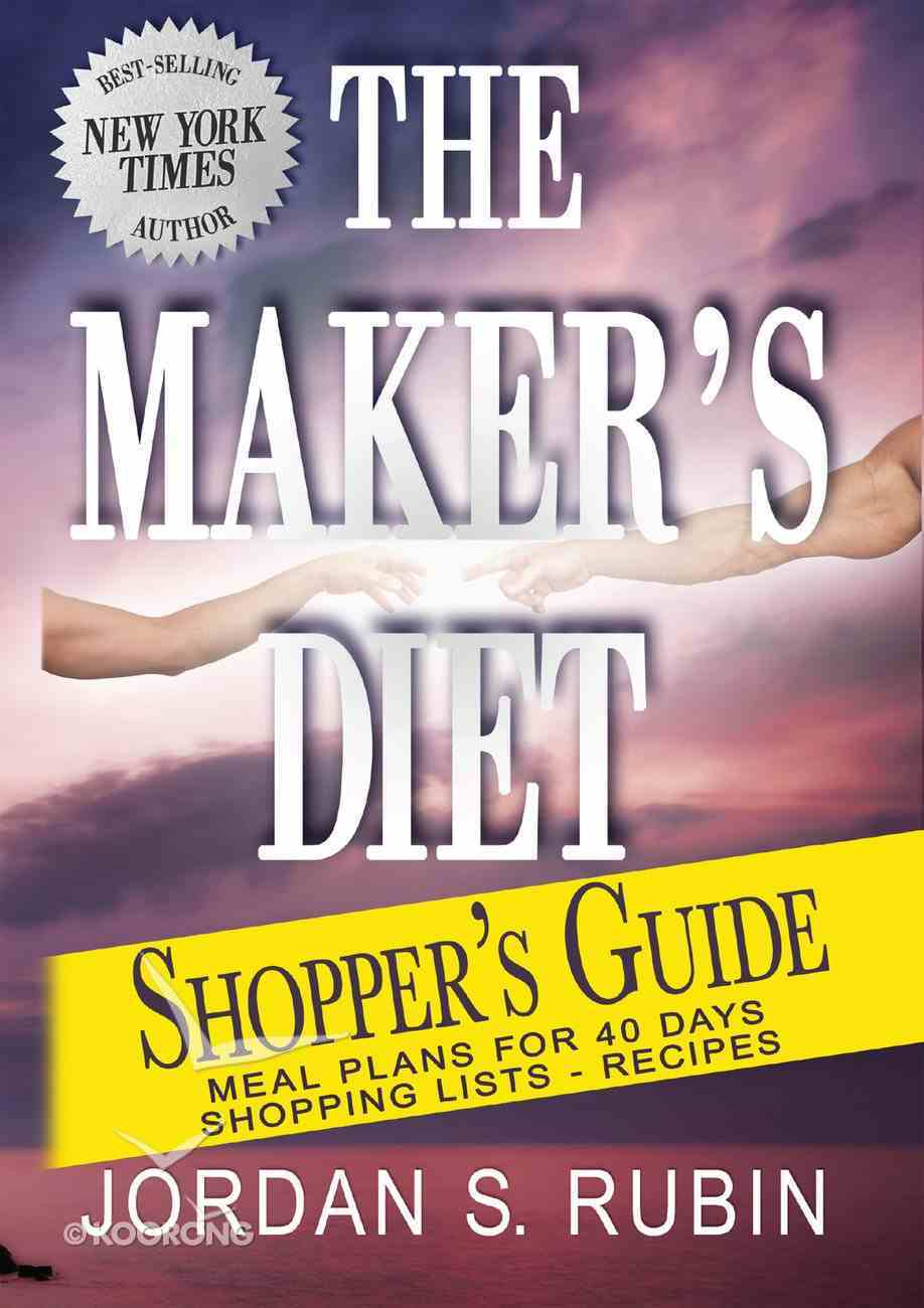 The Maker's Diet Shopper's Guide eBook