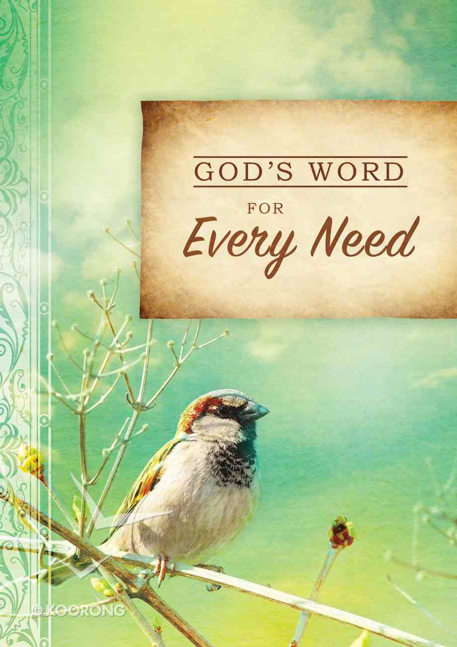 God's Word For Every Need (God's Word For Series) eBook