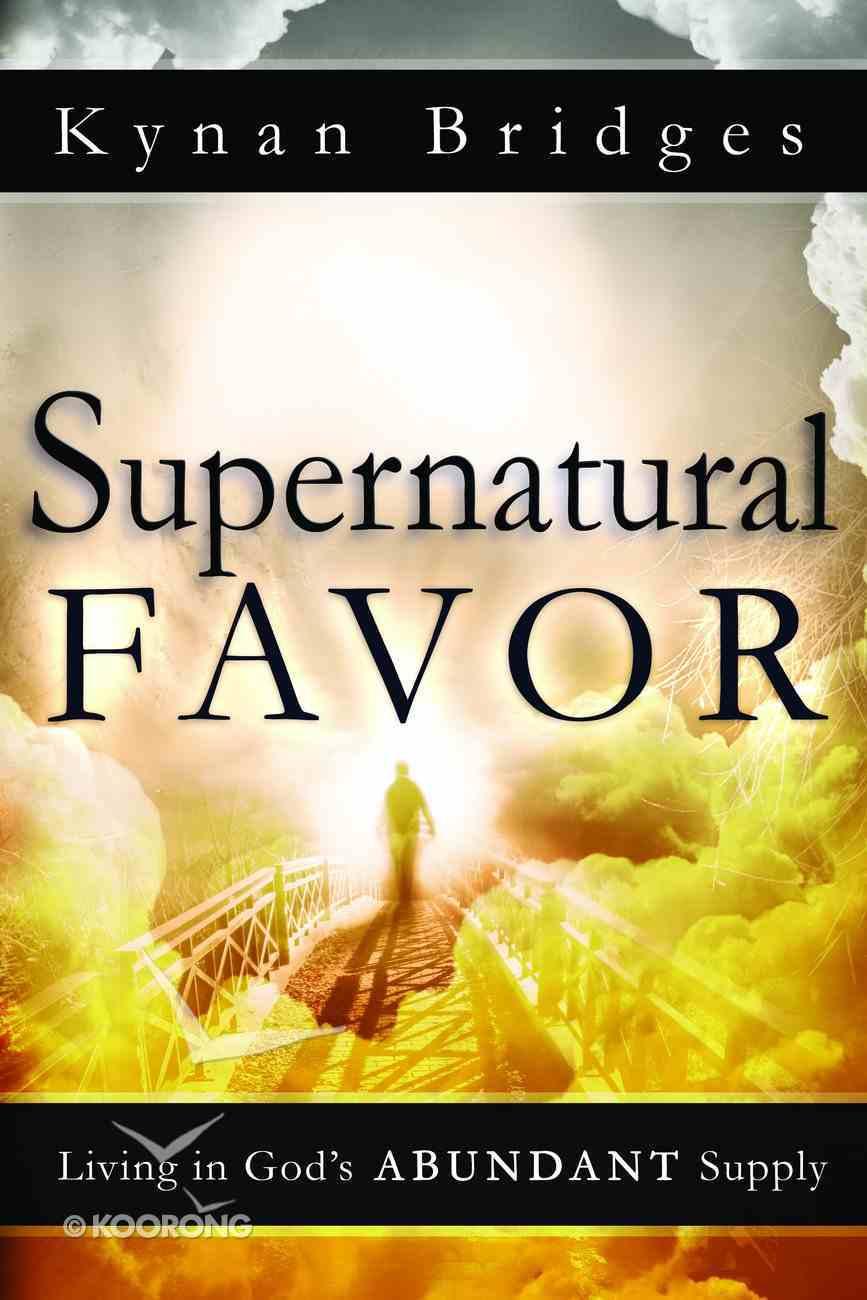 Supernatural Favor eBook