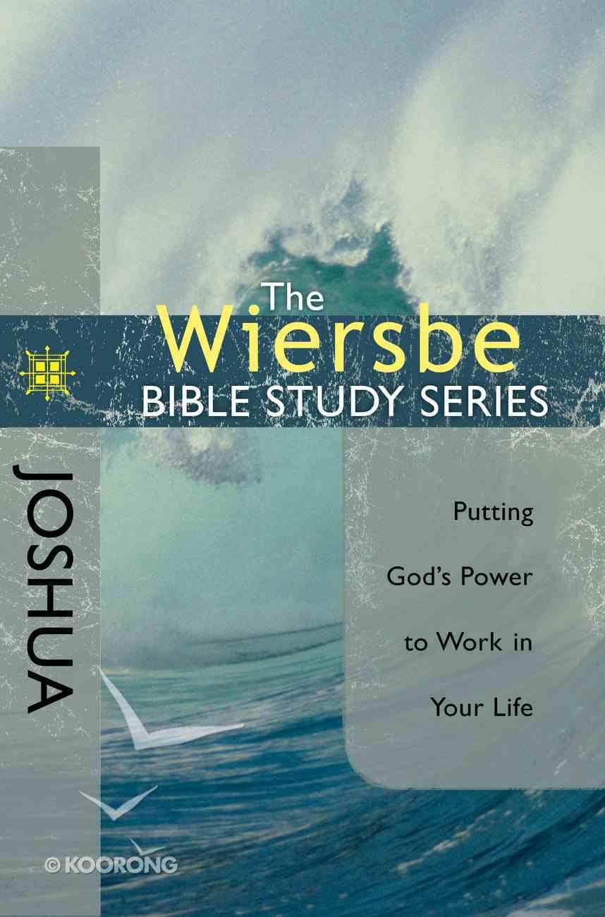 Wiersbe Study Series: Joshua eBook