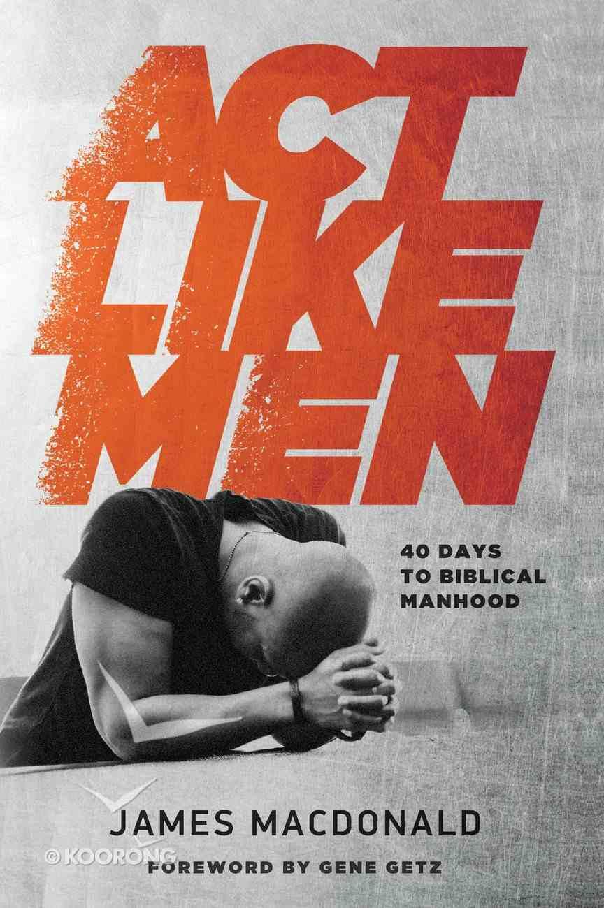 Act Like Men eBook