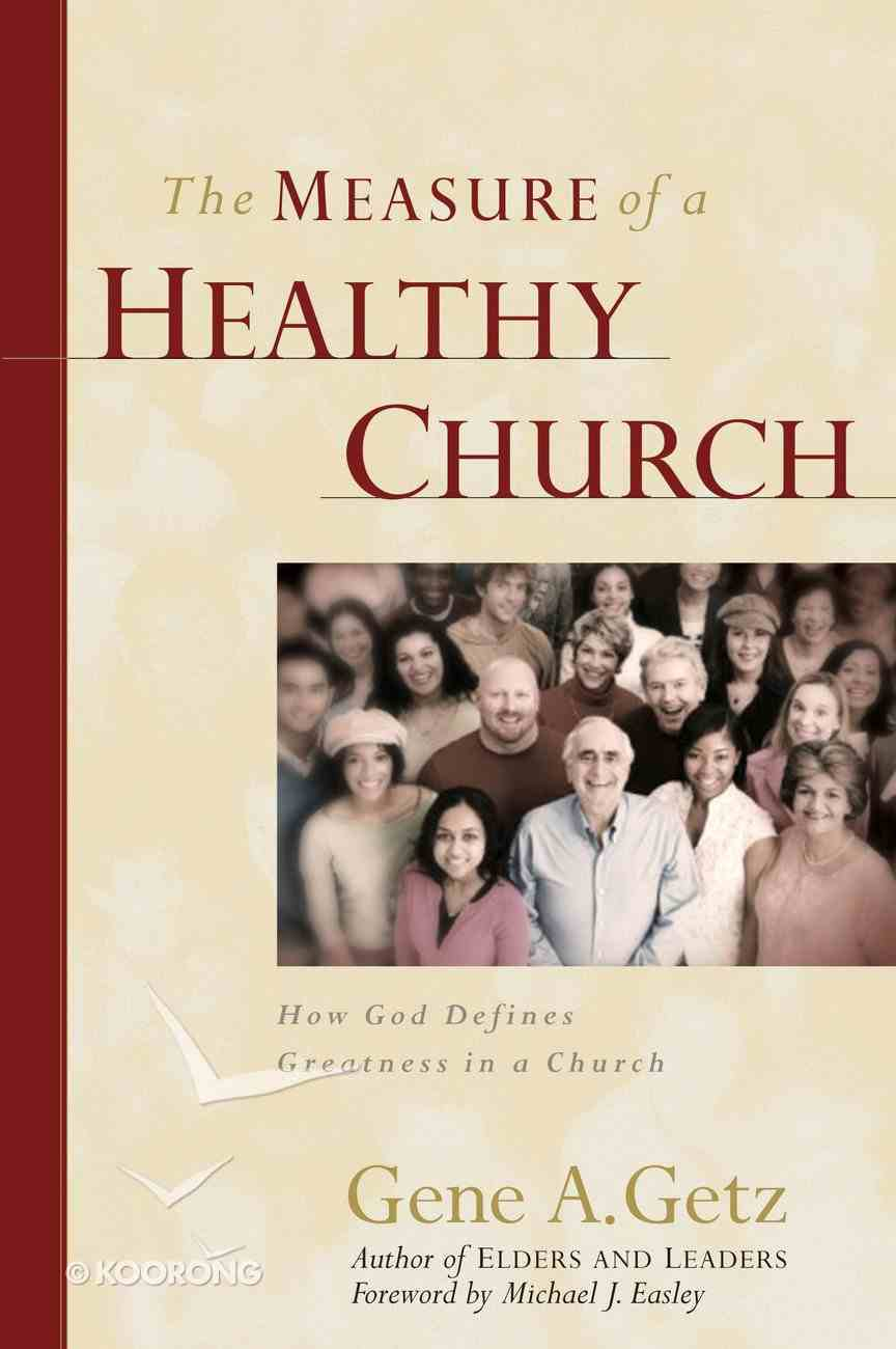 The Measure of a Healthy Church eBook