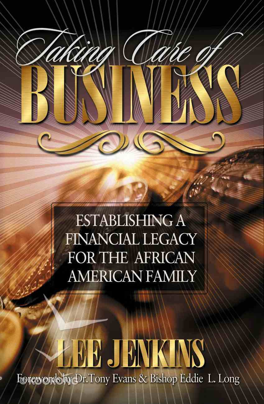 Taking Care of Business eBook