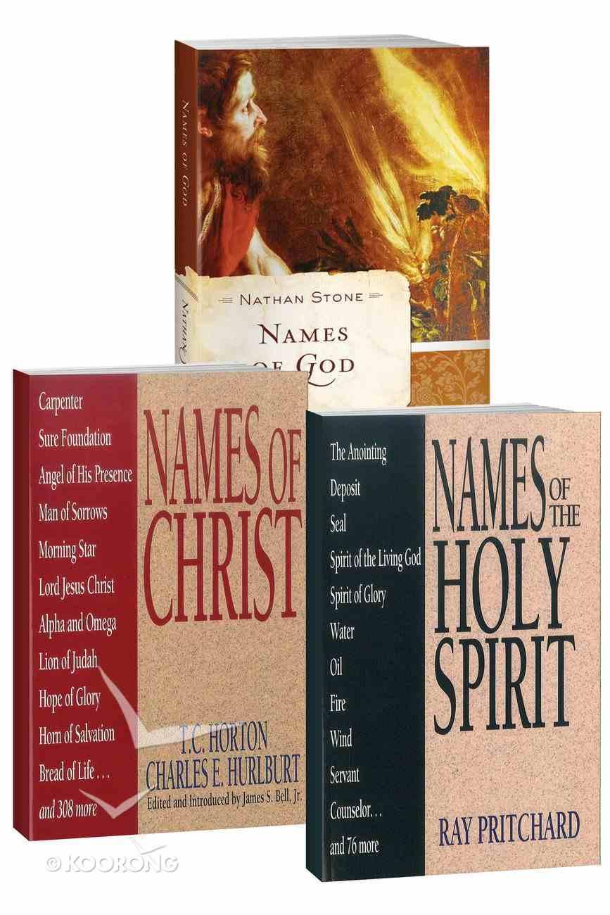 Names of Trinity Series (3 Vol Set) eBook