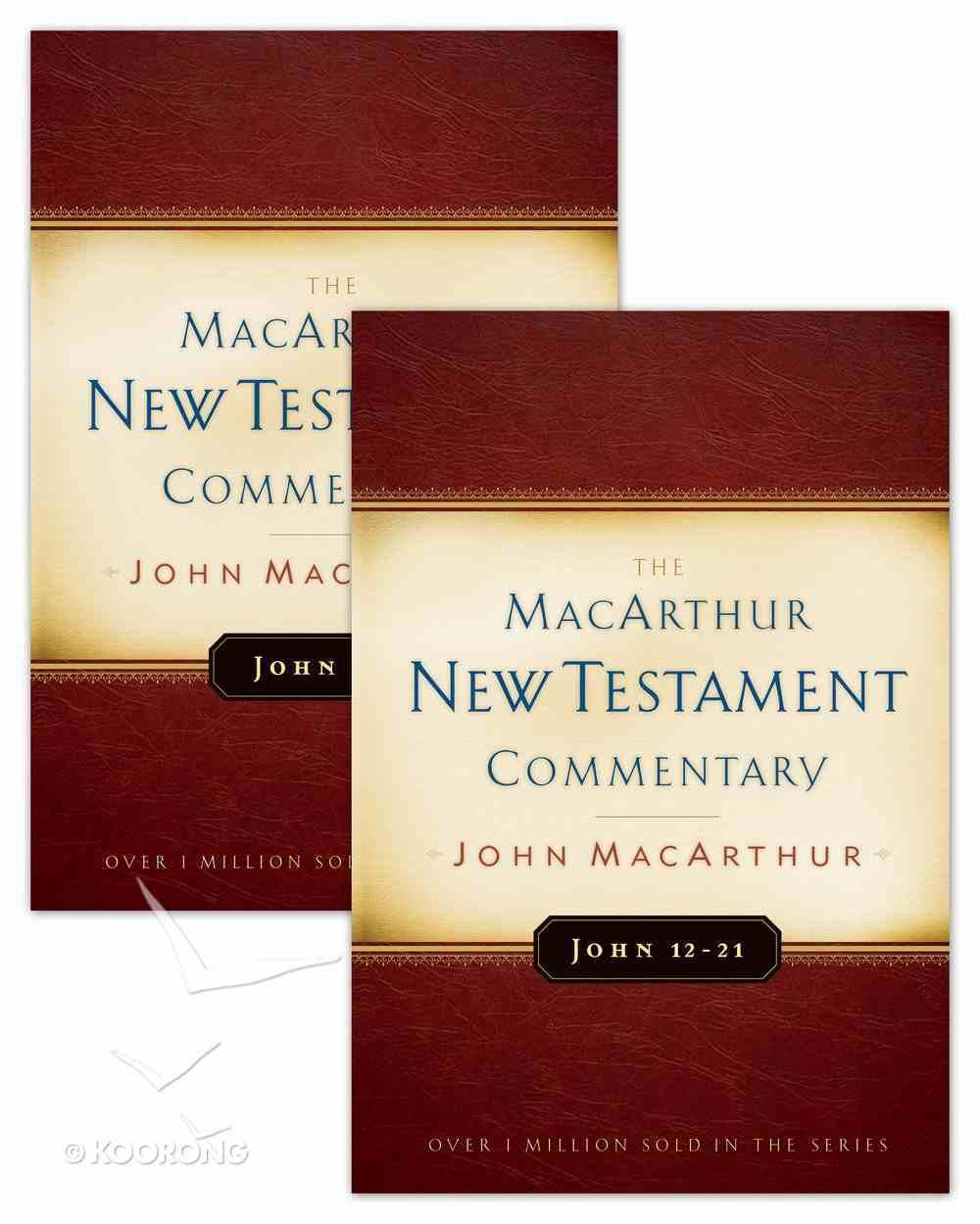 Gospel of John (Macarthur New Testament Commentary Series) eBook