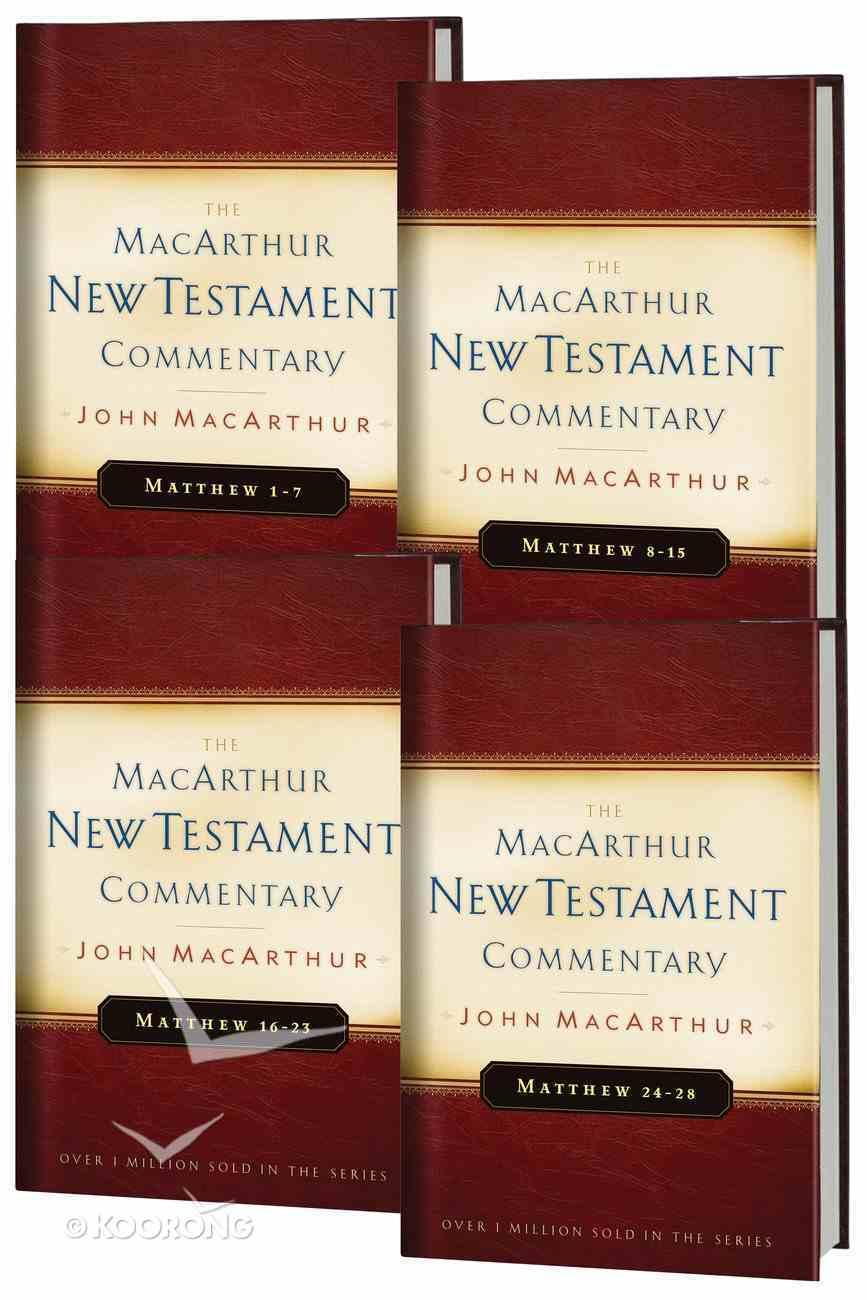 Matthew (4 Volume Set) (Macarthur New Testament Commentary Series) eBook