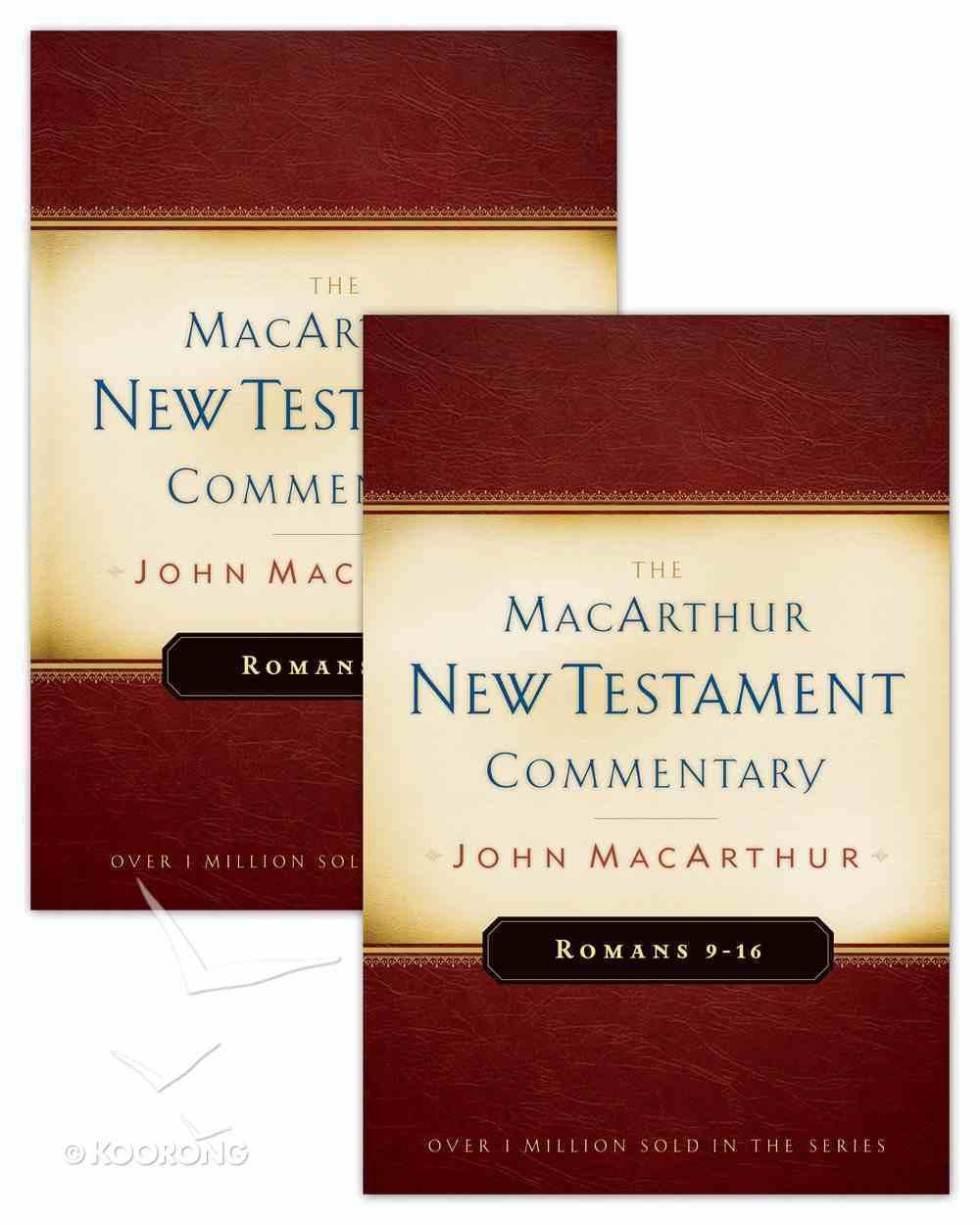 Romans 1-16 (2 Volume Set) (Macarthur New Testament Commentary Series) eBook
